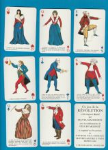 Collectible playing cards. Jeu de la Revolution, 1988